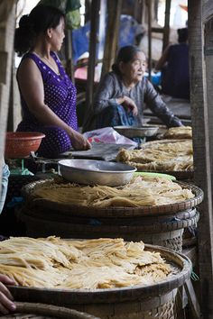 Cau Lau Noodles, Vietnam - Explore the World with Travel Nerd Nici, one Country at a Time. http://TravelNerdNici.com