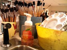 recipe for foaming soap from Artsy Amy