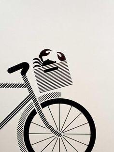 graphic design, illustration, póster Pensando en Pontevedra