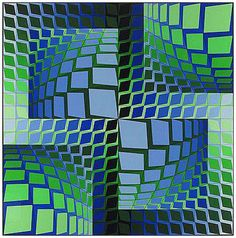 Victor Vasarely - Thez  Art Experience NYC  www.artexperiencenyc.com