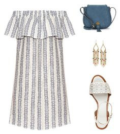 """Dressy"" by lance4 on Polyvore featuring Sea, New York, Nanette Lepore, Tory Burch and Ralph Lauren"