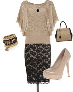 """""""Graduation Outfit"""" by april-baggett on Polyvore"""