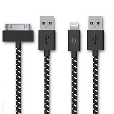 Introducing Go BeyondTM 3 Feet8 Pin iPhone 56 USB Data Sync  Charging Cable for iPhone 66 Plus iPhone 55S5C  iPad Mini iPod Touch 5th Generation Compatible with iOS 8 3 Feet 30 Pin Fabric Braided Nylon Premium Durable USB ChargingData Sync Cable for Apple iPod iPhone and iPad Black Nylon for Iphone 4 ipad And Iphone 5 5s 66 Plus SHIPPED IN SAME BUSINESS DAY. It is a great product and follow us for more updates!