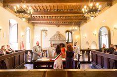 A&S civil wedding in Cortona; Tuscany. Wedding planning services by www.tuscantoursandweddings.com