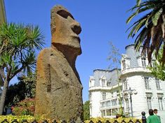 Museo Fonk en Viña del Mar, Chile #VinadelMar #Chile #Cultura Easter Island, Continents, South America, Places Ive Been, The Good Place, Beautiful Places, Places To Visit, Around The Worlds, Koh Tao
