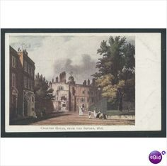 Charter House Charterhouse from the Square London Postcard Listing in the London,England,Topographical,Postcards,Collectables Category on eBid From deanosaur1972