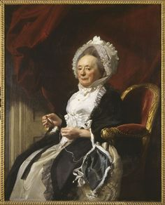 "John Singleton Copley. Portrait of a Lady (Mrs. Seymour Fort), c. 1780. oil on canvas; 49-1/2"" x 39-5/8"". Gallery Fund. 1901.34"