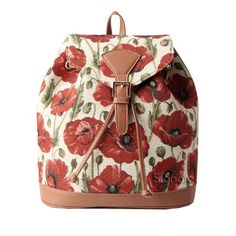Extra Off Coupon So Cheap Signare Womens Red and White Fashion Canvas  Tapestry Flap Buckle Pull String 4711a46e3db6f