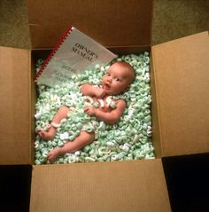 What a great birth announcement or Christmas card! <3