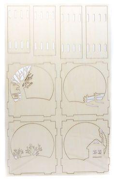 zeynep mangoo's media statistics and analytics Cardboard Crafts, Wood Crafts, Diy And Crafts, Paper Crafts, Laser Cutter Ideas, Laser Cutter Projects, Laser Art, Laser Cut Wood, Shadow Box Kunst