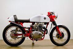1972 Honda CL 350 by Lossa Engineering