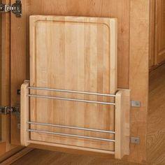 Rev-A-Shelf Cabinet Door Mount Wood Cutting Board