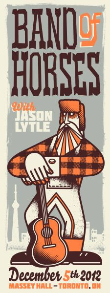 GigPosters.com - Band Of Horses - Jason Lytle