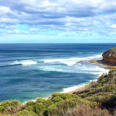 Bells Beach isn't one of the most famous beaches for nothing!!  by ebbandflow_familytravel http://ift.tt/1KnoFsa