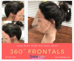 SalonLabs Virgin Hair Extensions produces highest quality lace frontals that are lightweight, ultra comfortable and undetectable. 360° Lace Frontals are a great way to create a natural look! Get the look using one of our 360° Lace Frontals!  SalonLabs 360° lace frontals can be colored, hot washed, blow dried, curled and style any way you like.  We offer exclusive discounts and custom pricing for Distributors, Re-sellers, Salon owners and Stylists buying all lengths from 10 inches to 30…