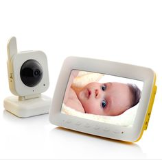 Wireless Nightvision Baby Monitor - VOX Two Way Audio, Motion Detection, 7 Inch LCD Screen                 http://www.chinavasion.com/irxv/