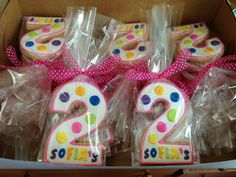 "Number ""2"" Birthday Favors"