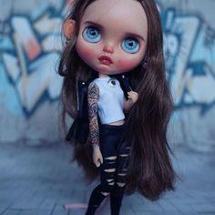 ♪ # panenka # dollblythe #blethe #blethedress #blythelove #blythecustom # ド ー ル # ブ ラ ス ト #