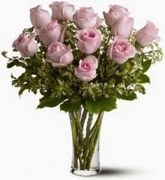Pink bouquet roses