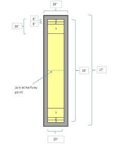 Shuffleboard Court Dimensions Diagram Shuffleboard Court