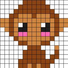 Baby_Monkey by Ninie on Kandi Patterns