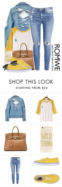 """Untitled #1123"" by princess-alexis18 ❤ liked on Polyvore featuring High Heels Suicide, Hermès, Sonix, H&M, Vans and Ray-Ban"