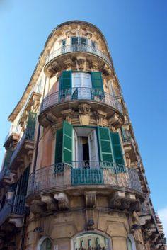 Beautiful Italian balconies.