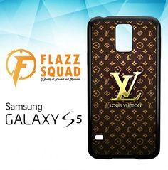 Louis Vuitton Gold X4448 Samsung Galaxy S5 Case