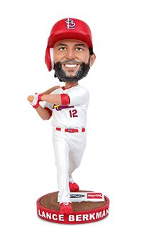 The people have spoken! Our season ticket holders voted on their favorite player of the past 10 seasons in Busch III. Lance Berkman won the vote with the help of his 2011 postseason heroics, and will be honored with his very own bobblehead on Saturday, Sept. 26. 25,000 fans will receive this one-of-a-kind collectible.