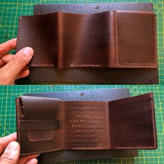 Available in my shop. My Wallet, Slim Wallet, Life Of Walter Mitty, Leather Portfolio, Hand Type, Wallets For Women Leather, Minimalist Wallet, Natural Leather, Leather Working