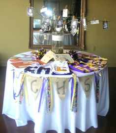 Memory Table, Columbia Central High School Class of 1981 Reunion, Columbia, Tennesse