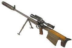 KSVK anti-material sniper rifle (Russia)