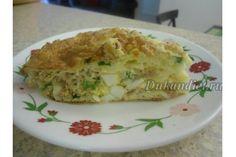 Нежный пирог с тунцом, яйцом и луком   Диета Дюкана: расчет веса, фазы, отзывы…
