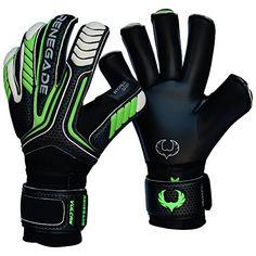 wholesale dealer f5f26 49597 Renegade GK Vulcan Goalie Gloves (Sizes 6-11, 3 Cuts, Lvl 3) Pro-Tek  Fingersaves - Excellent All-Around Goalkeeper Glove for Higher Level Play -  German ...