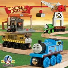 Thomas The Train Toys | all the way through the fire red diesel works yard