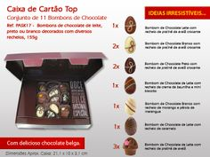 Bombons de Chocolate :) #bombons