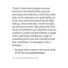right, why don't you message then? or no message is your message? Or seriously do you want me to send another message? Excerpt from a book i will never write Poetry Quotes, Words Quotes, Wise Words, Sayings, Quotes Quotes, Sad Love Quotes, True Quotes, Quotes To Live By, Meet Again Quotes
