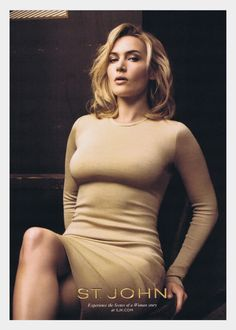 Kate Winslet for 'ST. JOHN