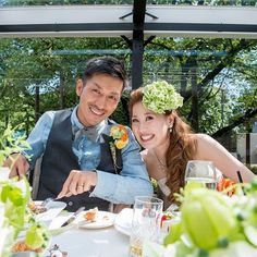 "@garlands_wedding's photo: ""Bride and Groom  #ガーランズ #garlands  #結婚式 #結婚式準備  #結婚式場  #結婚写真 #披露宴 #会場装花  #新郎新婦 #家族 #ウェディング #ウェディングドレス #ブーケ #ブライダル #ウェディングフォト #前撮り #ロケーションフォト #エンゲージメントフォト #ナチュラルウェディング #ガーデンウェディング #オリジナルウェディング#リゾートウェディング #プレ花嫁 #プレ花嫁サポート #wedding #bridal #weddingphotography  #heritagebridalcollection"""