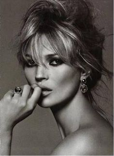 Kate Moss // by Peter Lindbergh