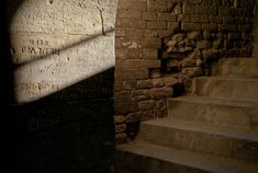 This photograph of Normand Primeau taken in the Arles amphitheatre reminds me of the roman graffiti in Pompeii. History is not only made of what we are taught in school but by people's everyday life. Places In Europe, Places To Visit, Pompeii History, Roman, Graffiti, Stairs, Photograph, School, Life