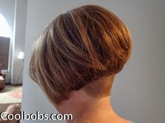 Mrs CB from Coolbobs.com is back with a new short stacked aline bob with short nape undercut