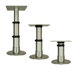 Sturdy Adjustable Table Pedestal Is Great For Boats RVs Decks And Patios.