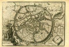 Leuven kaart 1720