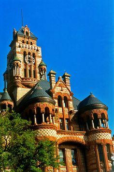 Ellis County Courthouse, Waxahachie, Texas