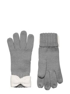 color block bow gloves - kate spade new york