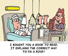 Roof Repairs Cartoons and Comics - funny pictures from CartoonStock