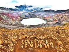 Mount Dempo, Palembang, Indonesia.