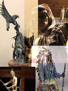 Limited Edition Bronze  Visit my Facebook for business & share... Spiritsbycindyjo.com  #collectors #architecture #homedesign #interiordesign #west #tribe #western #cindyjo #luxury #bronze #bronzer #sculpture #art #artistsoninstagram #artgallery #clay #nativeamerican #westernartist #history #monument #customdesign #american
