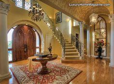 San Antonio - Beautiful Mediterranean in The Dominion  Luxurious living complete with a chess set!   #sanantonioluxuryhomemagazine